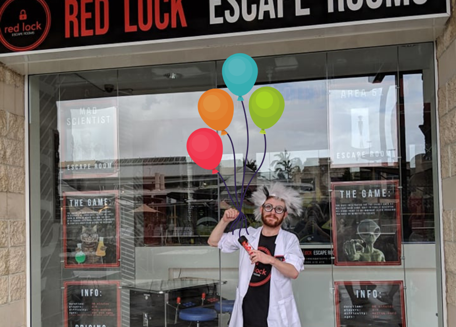 Escape Room Birthday Sunshine Coast